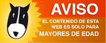 AVISO, el contenido de esta web es solamente para mayores de edad