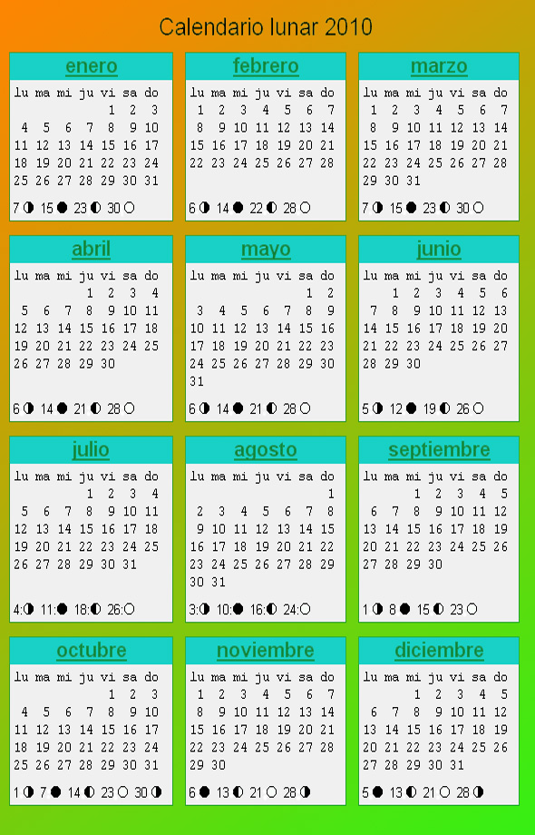 Calendario Lunar Cannabico 2019 Espana.Calendario Cannabico 2010 La Marihuana